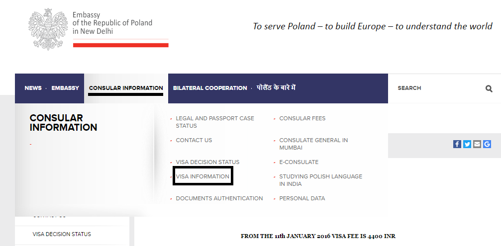 How to apply for a visa from India to Poland in 10 steps