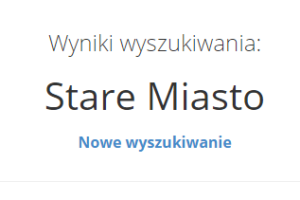 When you register your address in Poland, first you need to find your city district