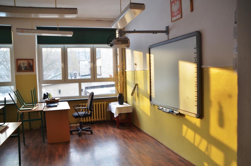 Classroom of Gimnazjum nr 12 in Krakow