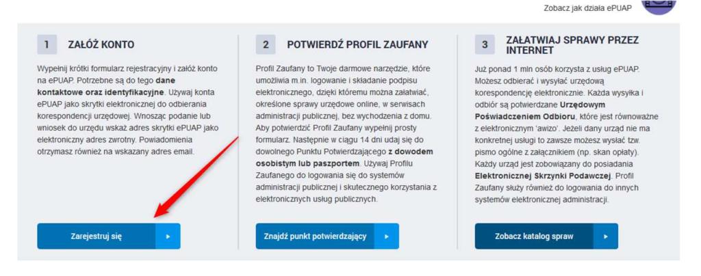 register profil zaufany screenshot