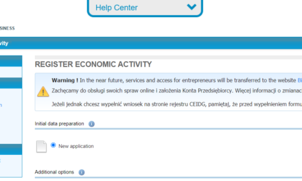 The slow end of the CEIDG portal?